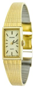 Pulsar * Pulsar By Citizen Ladies Gold Tone Watch