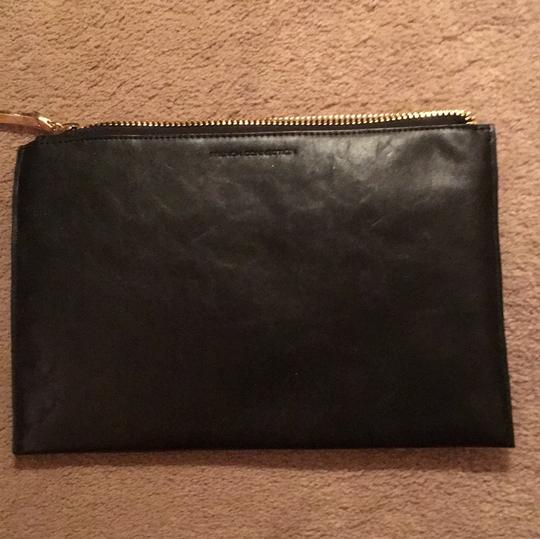 French Connection Black Clutch