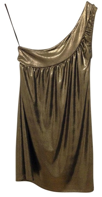 Preload https://item1.tradesy.com/images/fighting-eel-metallic-goldblack-shoulder-dresstunic-short-night-out-dress-size-4-s-19810525-0-1.jpg?width=400&height=650
