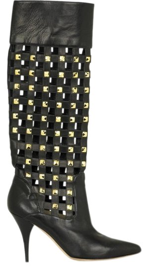 Preload https://img-static.tradesy.com/item/19810659/oscar-de-la-renta-black-leather-bootsbooties-size-us-7-regular-m-b-0-1-540-540.jpg