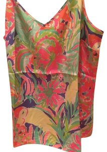 Lilly Pulitzer Size Large Style Number 20215 Style Name Zoe Brand New With Tags Top Multi / Casa Banana