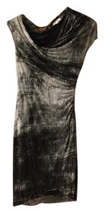 Helmut Lang short dress Black/grey/white on Tradesy