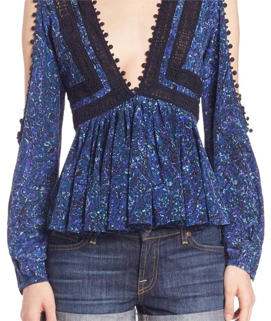 Preload https://img-static.tradesy.com/item/19810801/rebecca-taylor-bluecreampale-pink-black-print-lace-blouse-size-6-s-0-2-650-650.jpg