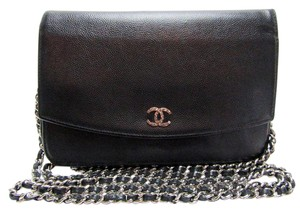 Chanel Wallet Chain Woc Clutch Cross Body Bag