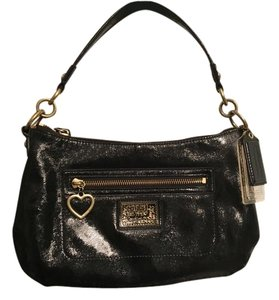Coach Poppy Tote in Black