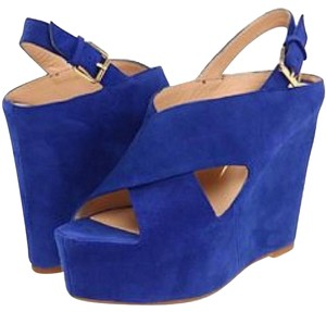 Dolce Vita Blue Wedges