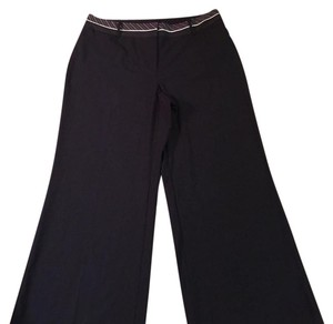 Lane Bryant Wide Leg Pants Navy and White