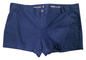 Gap Khaki Khaki Mini/Short Shorts Navy