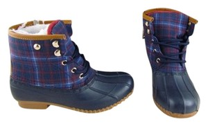 Tommy Hilfiger Blue Boots