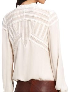 Haute Hippie Top Off white