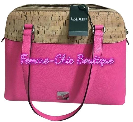 Preload https://img-static.tradesy.com/item/19811246/ralph-lauren-hanway-dome-saleazalea-pink-leather-satchel-0-3-540-540.jpg