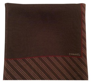 Chanel AUTHENTIC CHANEL SILK SCARF