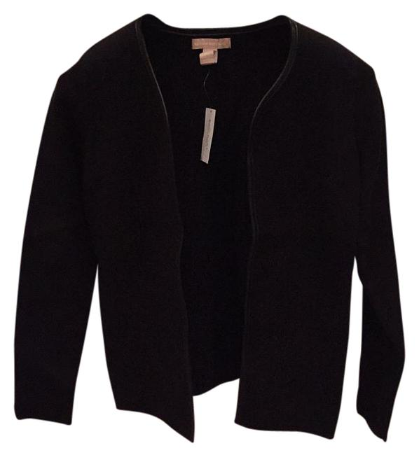 Preload https://img-static.tradesy.com/item/19811275/banana-republic-leather-trim-cardigan-black-sweater-0-1-650-650.jpg