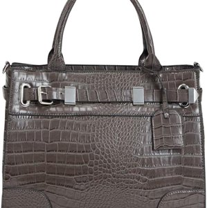 JustFab Satchel in Gray