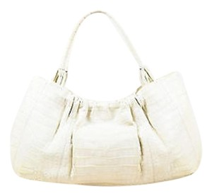 Nancy Gonzalez Tote in White