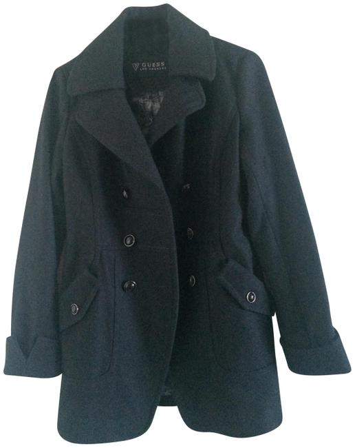 Preload https://img-static.tradesy.com/item/19811719/guess-charcoal-gray-new-women-s-button-military-trench-coat-size-4-s-0-5-650-650.jpg