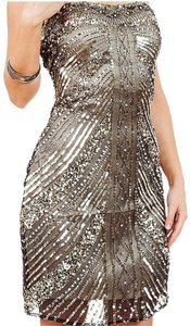 PromGirl Prom Homecoming Cocktail Sequin Strapless Dress