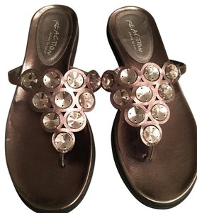 Kenneth Cole Reaction Copper Sandals