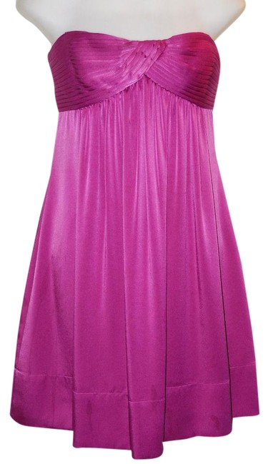 Preload https://item3.tradesy.com/images/bcbgmaxazria-pink-satin-strapless-above-knee-cocktail-dress-size-6-s-19811902-0-1.jpg?width=400&height=650