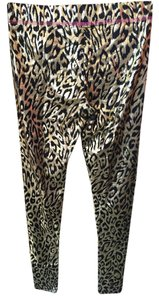 Betsey Johnson Black/Gold Leggings