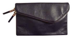 Henri Bendel Convertible Wedding Navy Clutch