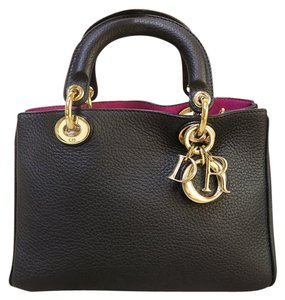 Dior Mini Diorssimo Satchel in black