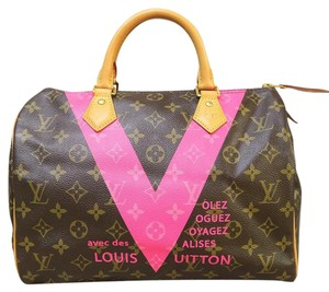 Louis Vuitton Lv Speedy 30 Canvas Tote in monogram