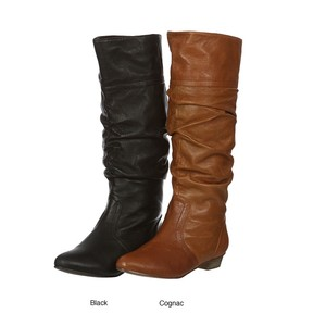 Steve Madden Fall Black Leather Boots