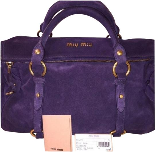 Miu Miu Purple Messenger Bag