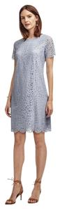 Ann Taylor Shift Scallop Lace Dress