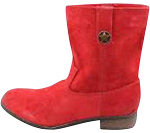 Very Volatile red Boots