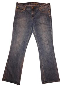 American Eagle Outfitters Stretch Flare Leg Jeans-Distressed
