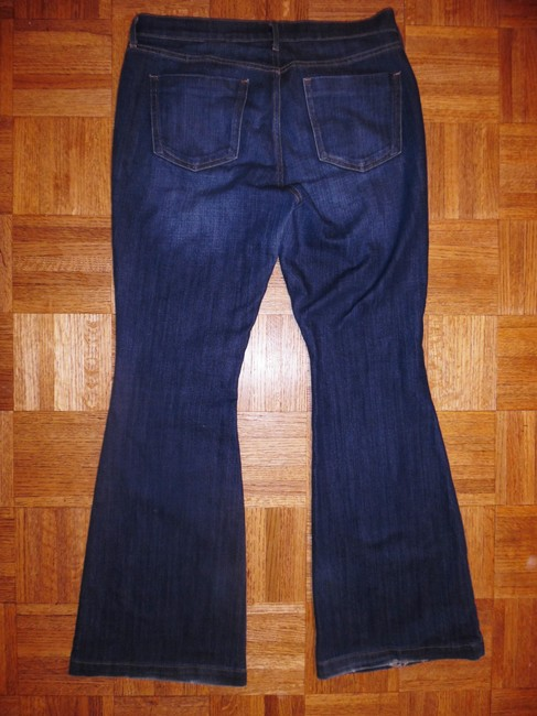 Old Navy Stretch Flare Leg Jeans-Distressed