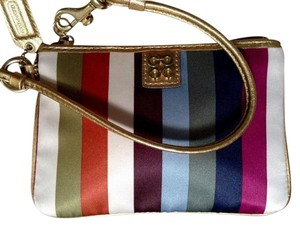 Coach Legacy Julia Wristlet in Muti