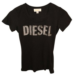 Diesel Monogram T Shirt Black