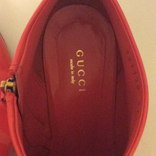 Gucci coral Boots