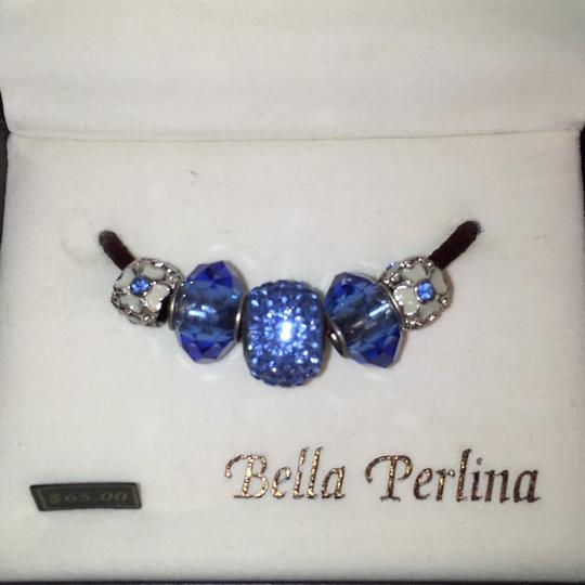 Bella Perlina 2 NEW! Charms Cryatals & Enameled W/Silver Plate