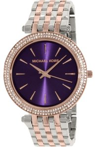 Michael Kors Michael Kors MK3353 Womens Darci Silver Rose Gold Tone Watch