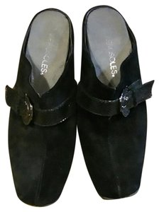 Aerosoles Black Mules