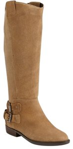 DV by Dolce Vita Suede Riding Knee-high Buckles Brown Boots