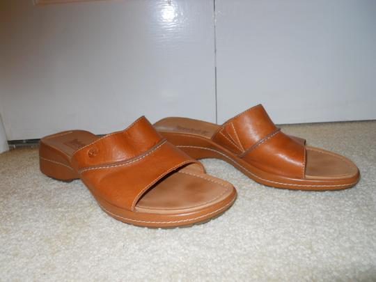 Timberland Leather tan Sandals