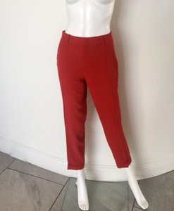 Joie Capri/Cropped Pants Red