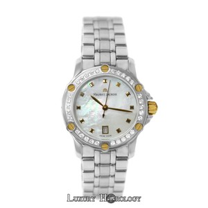 Maurice Lacroix New Ladies Maurice Lacroix Tiago TI1034 Diamond 18K Gold MOP Date