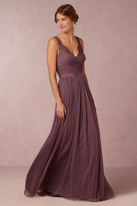 BHLDN Antique Orchid Tulle Fleur Formal Bridesmaid/Mob Dress Size 0 (XS)