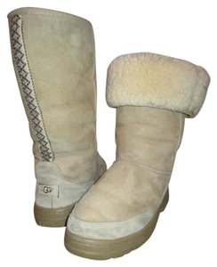UGG Australia Leather Suede Tall tan Boots