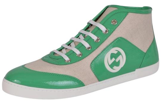 Preload https://item2.tradesy.com/images/gucci-multi-color-women-s-363729-canvas-patent-leather-gg-sneakers-sneakers-size-us-10-regular-m-b-19813166-0-1.jpg?width=440&height=440