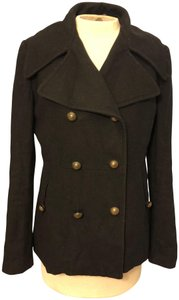 G.E.T. Outerwear Sexy Get Chic Fitted Cozy Chic Pea Coat