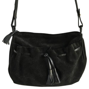 Bottega Veneta Tassels Vintage Suede Cross Body Bag