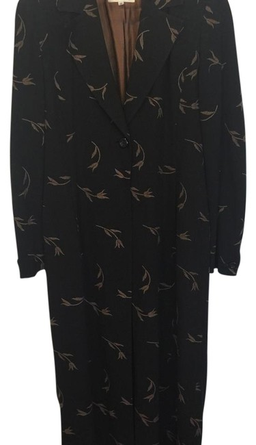 Preload https://item5.tradesy.com/images/cache-black-with-brown-paisley-duster-coat-night-out-top-size-10-m-19813284-0-1.jpg?width=400&height=650