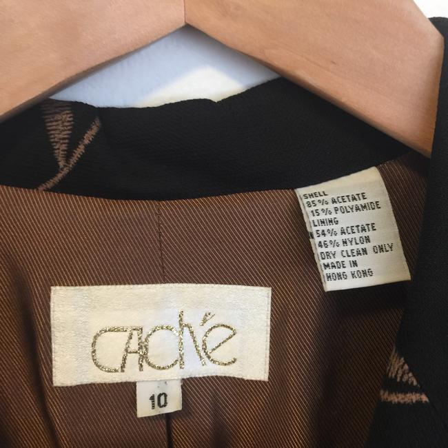 Cache Duster Vintage Coat Vintage Duster Coat Coat Sexy Coat For Mini Top black with brown paisley